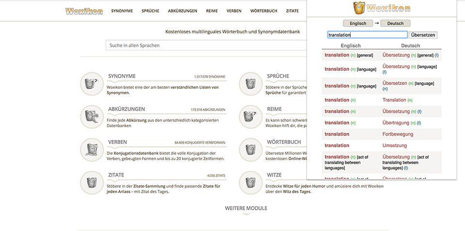 Wörterbuch ab sofort als Chrome-Erweiterung erhältlich!